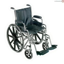 """18"""" Standard Wheelchair W/remove Arms"""
