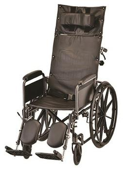 Nova Medical Reclining Wheelchair with Full Arms & Elevating