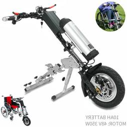 350W Electric Handcycle Wheelchair Conversion Kit+10AH Batte
