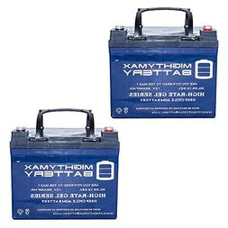 Mighty Max Battery 12V 35AH Gel Battery for U1 One New Wheel
