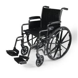 "Everest & Jennings  3E01020 Traveler Wheel Chair 18"" Seat wi"