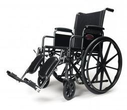 Advantage Wheelchair - Legrest: Elevating, Armrest: Detachab