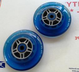 "4"" X 1""  WHEELCHAIR CASTER WHEELS-QUICKIE-5/16 AXLE- FROG LE"
