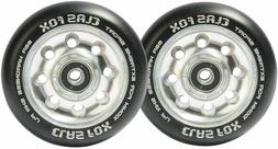 """4""""x1"""" WHEELCHAIR CASTERS WHEELS, FROG LEGS, QUICKIE,TILITE,O"""