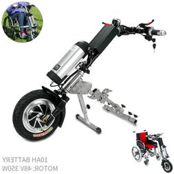 48V/350W 10Ah Attachable Electric Handcycle Scooter Handbike
