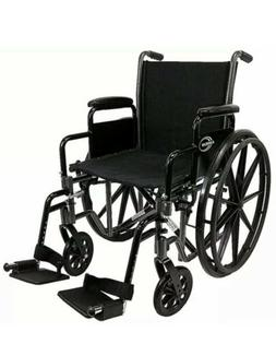 Karman Healthcare 802-DY Deluxe Standard Wheelchair with Fix