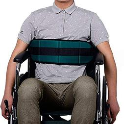 QEES Adjustable Wheelchair Safety Belt Soft Cushion Belt for