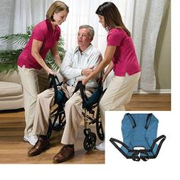 Aide Transfer Lift Sling,Two-Person Wheelchair Mobility Tr