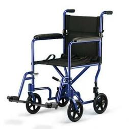 Probasics Aluminum Transport Wheelchair Companion Chair-19""