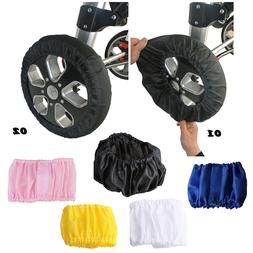 Baby Wheelchair Strollers Dust-proof Cover Kids Carriage Whe