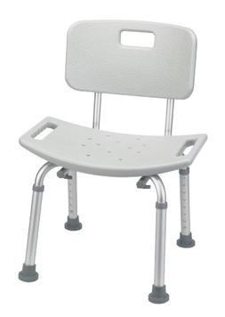 Drive Medical Bathroom Safety Shower Tub Bench Chair with Ba