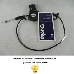 Complete Medical Brake & Cable Set Only for 10257 Series Rol