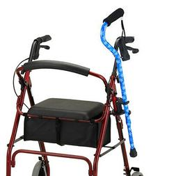 NOVA Cane Holder for Rollator and Folding Walker