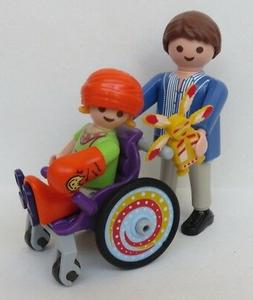 Playmobil City Life Child in Wheelchair   #6663  New in Bag