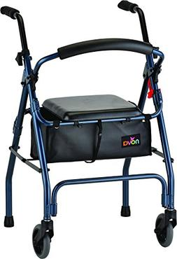 NOVA Medical Products Cruiser II Walker, Blue