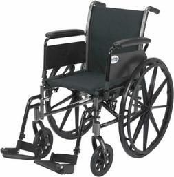 Drive Medical Cruiser III Light Weight Wheelchair with Vario