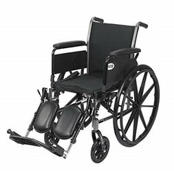 Cruiser III Light Weight Wheelchair with Various Flip Back A