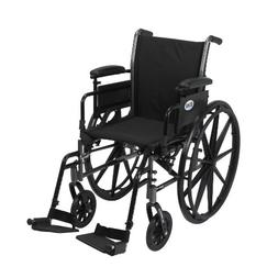 Cruiser III Lightweight Wheelchair with Various Flip Back Ar