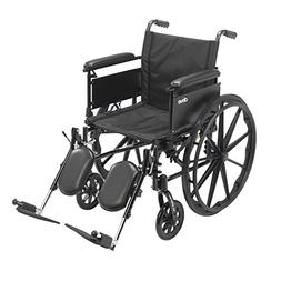 Cruiser X4 Lightweight Dual Axle Wheelchair w/Adjustable Det