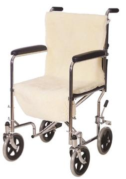 Essential Medical Supply D3005 Sheepette Wheel-Chair Seat an