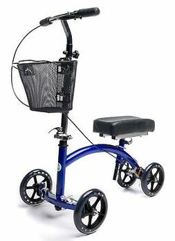 KneeRover Deluxe Steerable Knee Cycle Knee Walker  Scooter C