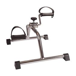 DMI Lightweight Mini Pedal Exerciser Leg and Arm Peddler, Ad