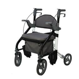 EC Fusion 2 in 1 walker wheelchair combination walking aid r