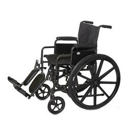 "Economy Standard Wheelchair Seat Size: 18"" W x 16"" D, Armres"