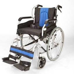 ECSP01-18 Lightweight folding self propelled wheelchair with