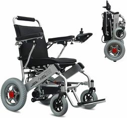 Electric Wheelchair Folding Lightweight Power Medical Mobili