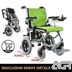 Electric Wheelchair Power Wheel Chair Lightweight Mobility F
