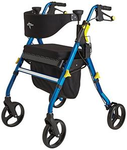 Medline Empower Rollator, Blue