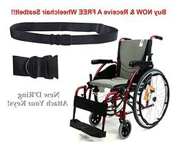 New Karman S-Ergo 125  Ergonomic Wheelchair with Flip-Back A