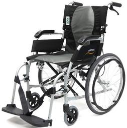 Karman Ergonomic Wheelchair Ergo Flight in 16 inch Seat, Pea