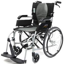 Karman Ergonomic Wheelchair Ergo Flight with Quick Release A