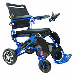 Geo Cruiser EX Lightweight Foldable Power Chair  with FREE A