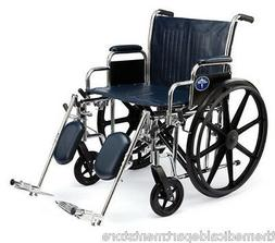 Medline Excel Extra Wide Bariatric Wheelchair With 500 LB Ca