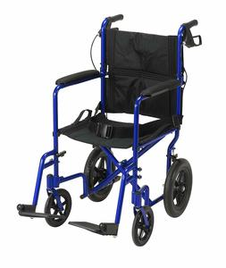 Drive Medical EXP19LTBL Lightweight Expedition Transport Whe