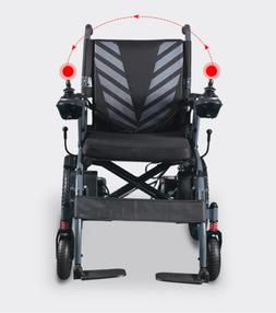 Foldable Electric Wheelchair Heavy Duty Lightweight Mobility