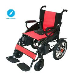 Foldable Electric Wheelchair Lightweight Heavy Duty Durable