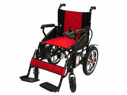 Foldable Power Wheelchair Lightweight Heavy Duty Electric Wh
