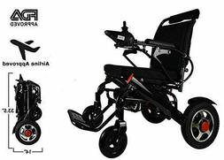 2021 Folding Lightweight Electric Power Wheelchair Mobility