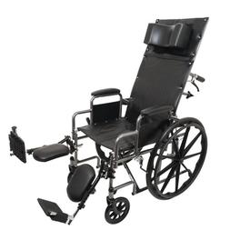 ProBasics Full Reclining Wheelchair , Removable Desk Arms &