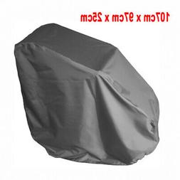 Grey Waterproof Wheelchair Storage Cover for Electric Manual