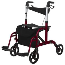 Give Me GWM-9124A1 Convertable Medical Rollator Wheelchair w