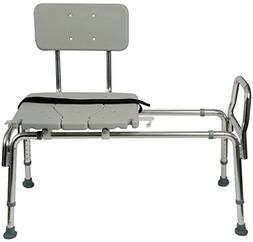 Tub Transfer Bench and Sliding Shower Chair Made of Heavy Du