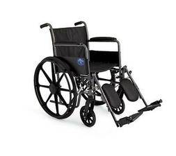 "K1 Basic Wheelchairs - WHEELCHAIR, K1 BASIC,18"", PERM ARM, E"