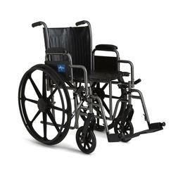 k2 basic wheelchair with 18 wx16 d