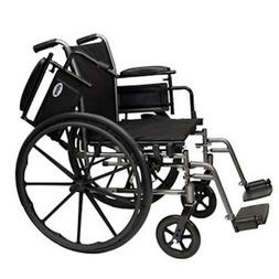 Compass 20 In Seat, WC32016DS Light Weight Wheelchair, w/ Sw