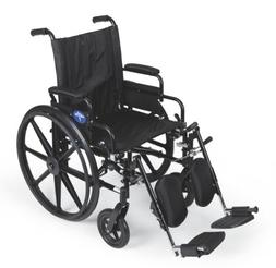 Medline K4 Extra-Wide Lightweight Wheelchairs MDS806565